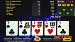 Atomic Fever Poker® LAL by IGT - Game Play Video