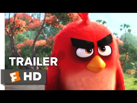 The Angry Birds Movie Official Teaser Trailer 1 2016 Peter Dinklage Bill Hader Movie HD