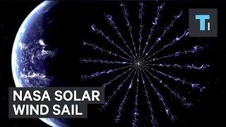 NASA solar wind sail