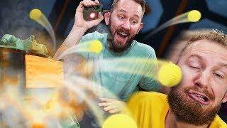 NERF Mine Roulette Challenge!