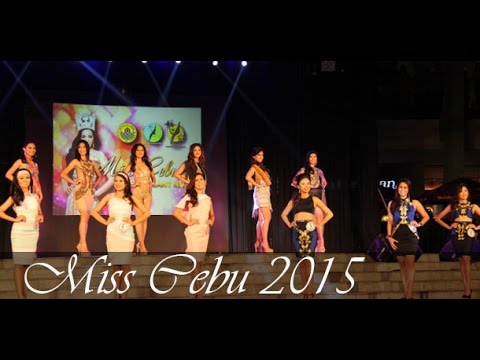 Miss Cebu 2015 Candidates showcase creations of young Cebu designers