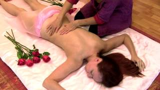 HD Back Massage with Oil, How To Techniques Relaxing ASMR Massage Body Work  Valentine's Day