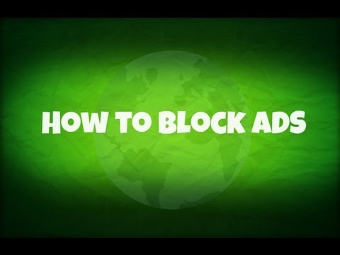 How to block ads on your Computer/Browser