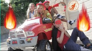 Little Heroes 38 - Fire Power, The Fire Truck, The Spark and The Girl Scout