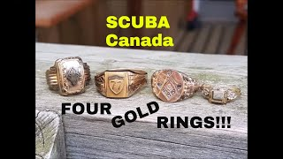 SCUBA: Gold Rings, Silver Coins And MOAR!