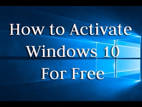 [How To] ACTIVATE Windows 10/8.1/8/7/xp for FREE - ALL VERSIONS(HD)