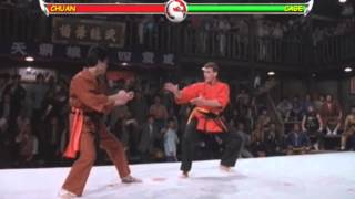 Van Damme in Mortal Kombat Bloodsport Edition