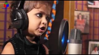 A cute little girl singing hindi song (choti se aasha)