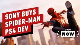 Sony Buys Spider-Man PS4 Dev Insomniac Games - IGN Now