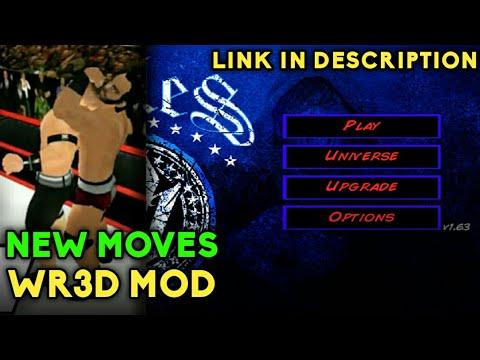 WR3D WWE MOD | WR3D 19 ULTIMATE MOD | WR3D NEW MOVES MOD | WR3D DOWNLOAD APK | WR3D NEW MOVES LINK