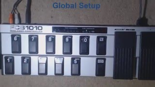 How to set FCB 1010 to work with Korg Pa600 (CC)