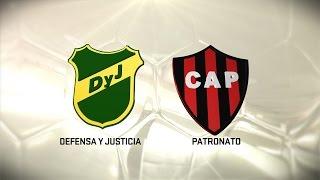 Fútbol en vivo. Defensa vs Patronato. Fecha 11. Torneo de Primera División 2016/2017. FPT