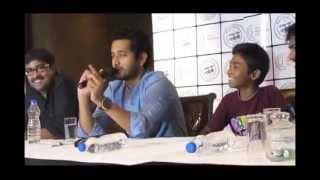 New Bengali Film Babar Naam Gandhiji Stars Meet the Press