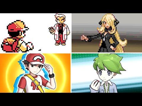 Xxx Mp4 Evolution Of Hidden Final Boss Pokémon Battles 1996 2017 3gp Sex