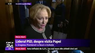 Veve Dancila aflată sub presiune o dă din nou în bară cu limba română