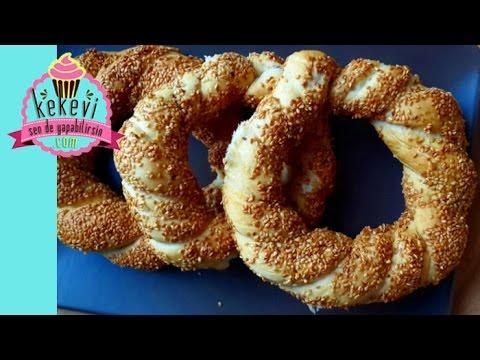 Simit Nasıl Yapılır Pastane Simidi Simit Tarifi