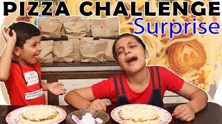 PIZZA CHALLENGE    #Funny #Kids #Bloopers    Aayu and Pihu Show