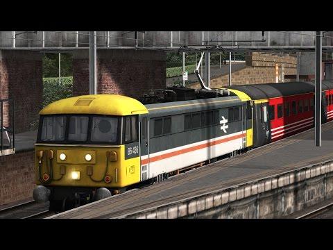 FR/ Let's Play Class 86 - Son AP + Voitures MK2 D Virgin / WCML North / Train Simulator 2017