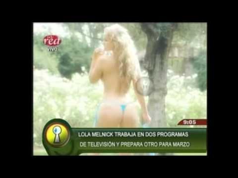 Lola Melnick Causa Furor En La TV Carioca.