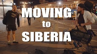 Russia VLOG1 // Moving to Siberia! [4k]