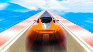 DRIVING FASTER THAN THE SPEED OF LIGHT! (GTA 5 Funny Moments)