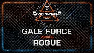 Gale Force Esports vs Rogue - Semi-Finals - Rocket League Championship - DreamHack Summer 2017