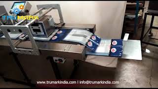 auto friction feeder with tto printer  for pouch