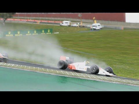 Xxx Mp4 F1 2017 21 9 Ultrawide Pilotando A McLaren MP4 4 Do SENNA NA CHUVA Autódromo De Interlagos 3gp Sex