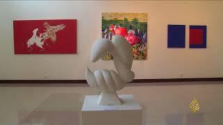 هذا الصباح- معرض للفن والخطوط بباكستان