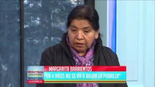 """Margarita Barrientos: """"Se ha perdido la cultura del trabajo"""""""