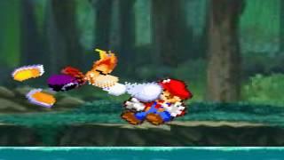 Mario vs Rayman (Rayman's ending)