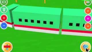 Touch Train 3D for Baby,Infant - iPhone,iPad & Android App [Demo Movie]