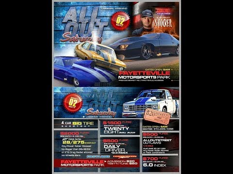 Fayetteville Motorsports(All Out Saturday Sept.2}Laborday Weekend/BBB