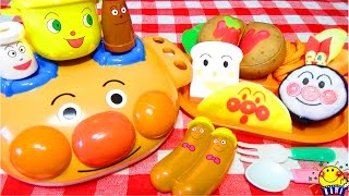 アンパンマン号のキッチンおもちゃでお料理トントン❤︎はじめてのふわふわキッチンにチョロミー ワクワクキューン!子供が夢中になるお子様ランチプレートのままごとセットを紹介するよ❤︎