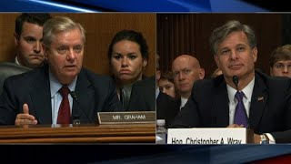 Graham grills FBI nominee over Russia