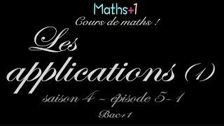 5-1. Applications (Bac+1)
