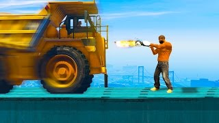 STRONGEST CAR vs. STRONGEST HUMAN! (GTA 5 Funny Moments)