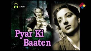 Huye Hai Majboor Ho Ke Aapno Se Door   Pyar Ki Baaten 1951   Lata Mangeshkar, Nargis