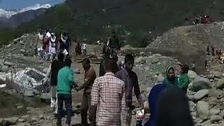 Poonch: People face difficulty after temporary bridge collapses