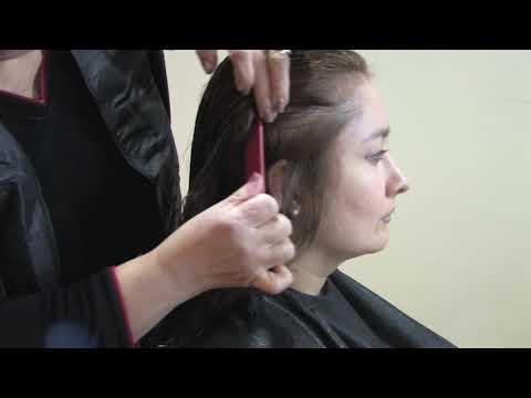 Como cortar el pelo en capas 1 de 2 Cursos de Peluqueria