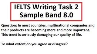 IELTS Writing Test Sample Band 8 Task 2 Academic 8.5 scorer SYED