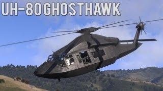 ARMA 3: Beta Dev Build - UH-80 Ghosthawk (Stealth Chopper)