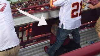 Washington Redskins Fan Gets Blowjob During Game
