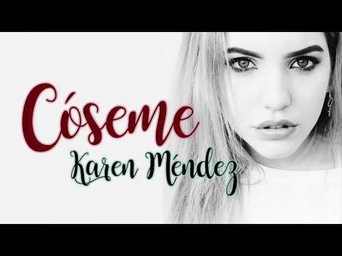 Karen Méndez Cóseme Letra Beret Cover