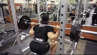 Olympia Shred 50 days out: Jeff Seid Leg Workout