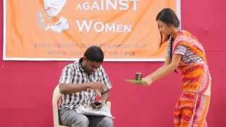 Elimination of Violence against Women.............. BD 1 students of Serampore College Performance