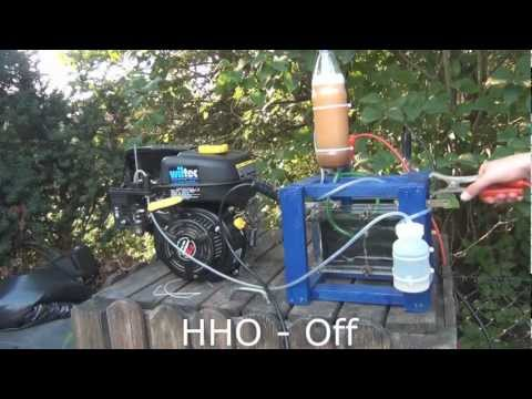 Small Engine HHO Injection