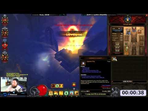 [Diablo 3] 1-70 in 1 Minute-ish   Moo Moo, Fastest Leveling Method