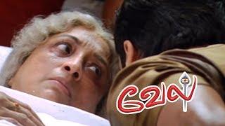 Vel | Vel Movie | Vel Tamil Movie Scenes | Suriya Rescues Lakshmi | Surya threatens Kalabhavan Mani