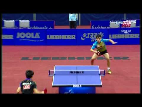 2010 Men's World Cup - Final - Wang Hao vs Zhang Jike - 3° Set